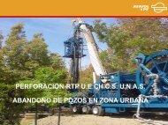 Abandono de Pozos en Zona Urbana ... - OilProduction.net
