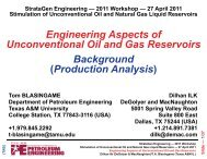 Engineering Aspects of Unconventional Oil and Gas Reservoirs ...