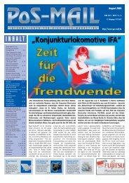 August - Cat-Verlag Blömer Gmbh