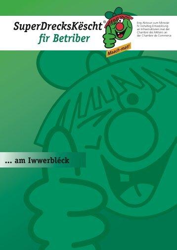 D'SuperDrecksKëscht® fir Betriber