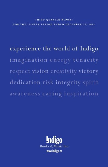 Q3 01 Body - Chapters.Indigo.ca