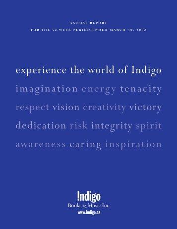Indigo AR F2002 - Chapters.Indigo.ca