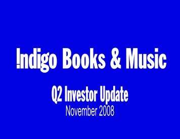 Best Retail Store Design - Chapters.Indigo.ca