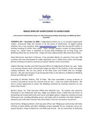 indigo spins off shortcovers to launch kobo - Chapters.Indigo.ca