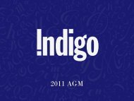 The Story of Indigo - Chapters.Indigo.ca