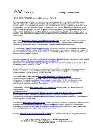 E/LE S.O.S. WWW Recursos Literarios - Parte 2. - AV Tuition.