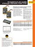 Enregistreurs de qualité d'énergie triphasés Fluke 1740 - Page 2