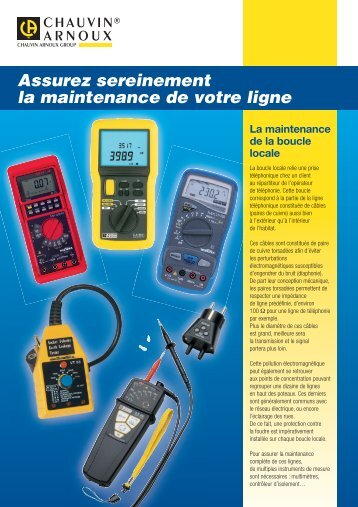 CA Maintenance.pdf - delta technique instrumentation