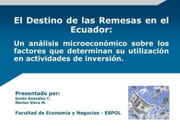 Análisis Descriptivo - DSpace en ESPOL