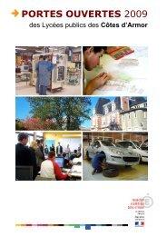 PORTES OUVERTES 2009 - Inspection académique Côtes-d'Armor
