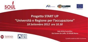 Programma - GINA - Università degli Studi Roma Tre