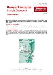 KENCTBUF - SAFARI BUFFALO Circuit Découvrir - A13 ... - Marmara