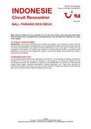 BALI PARADIS DES DIEUX - Marmara