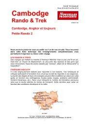 TREKok KHM angkor et tj Circuit Rando et Multi-activités.… - Marmara