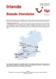 E13_FT-TUI_IRLCTBAL_Balade Irlandaise - Marmara