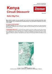 Circuit Découvrir - KENCTBIG - A13 OK - Marmara