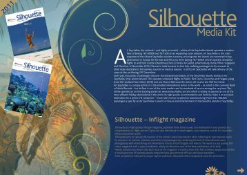 Silhouette – Inflight magazine - Air Seychelles