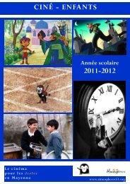 la plaquette Ciné-Enfants 2011-2012 - Atmosphères 53