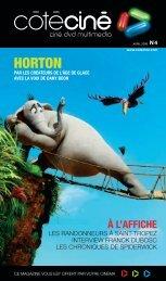 HORTON - Côté Ciné