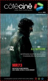à L'AFFICHE - Côté Ciné