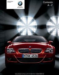 Online Edition for Part no. 01 41 2 602 735 - © 08/09 BMW AG