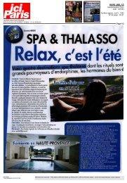 Spa & Thalasso, relax c'est l'été.. - Couvent des Minimes