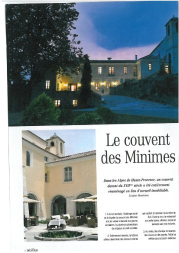 mimes - Couvent des Minimes