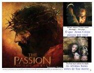 O que Jesus Cristo passou por você