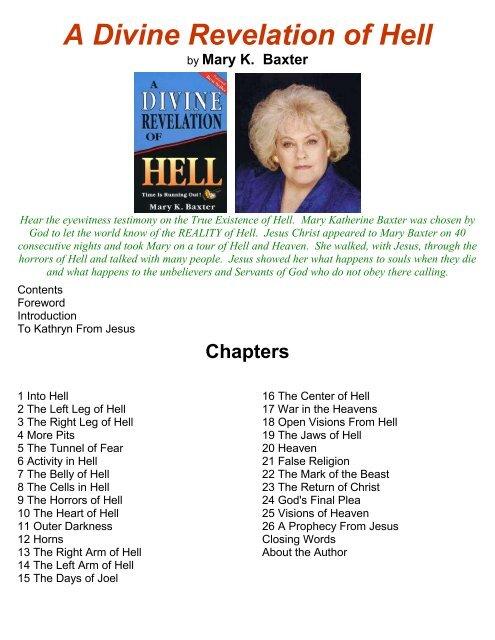 PDF - A Divine Revelation of Hell - Divine Revelations
