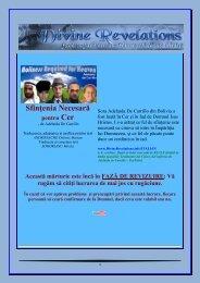 Sfinţenia Necesară pentru Cer - Divine Revelations
