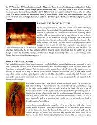 Vision of Hell by Emmanuel Agyarko - Divine Revelations