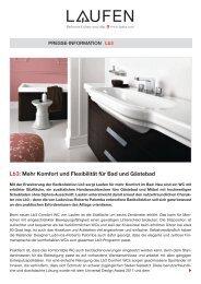 PR_Novelties 2011 Lb3_de_GLOBAL.pdf - Laufen
