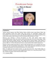 Sebuah Pewahyuan Surga - Divine Revelations