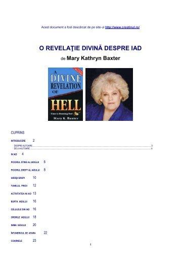 O REVELAŢIE DIVINĂ DESPRE IAD