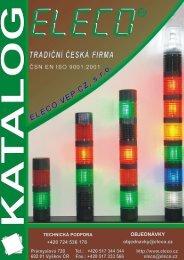 Indikační signálka montážní otvor 22 mm - KALA elektro