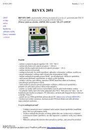 REVEX 2051 - KALA elektro