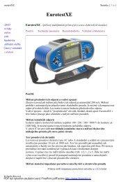 EurotestXE - KALA elektro