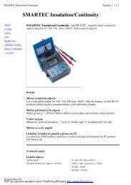 SMARTEC Insulation/Continuity - KALA elektro