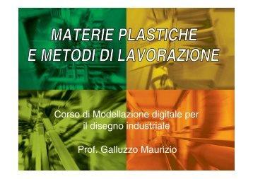 Guarda la presentazione - Maurizio Galluzzo