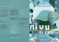 Le journal de l'exposition - musée des Confluences