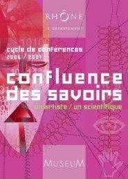 télécharger le programme (pdf) - musée des Confluences