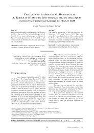 Catalogue du matériel de G. Michaud et A. Terver...