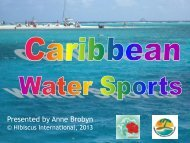 Watersports - Caribbean Tourism Organization