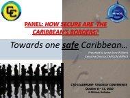 COURSE CONTENT - Caribbean Tourism Organization