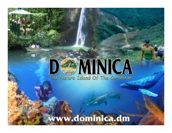 Community Tourism in Dominica - Caribbean Tourism Organization