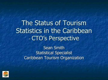 Tourism Stats - Caribbean Tourism Organization