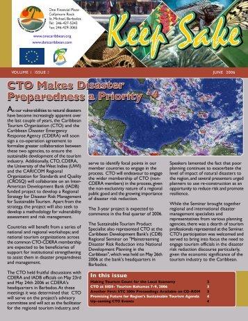 June 2006 - Caribbean Tourism Organization