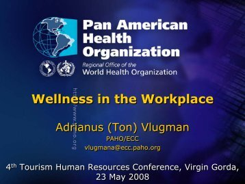 Wellness in the Workplace Wellness in the Workplace - Caribbean ...