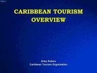 CARIBBEAN TOURISM OVERVIEW - Caribbean Tourism Organization