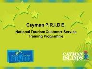 Cayman P.R.I.D.E. - Caribbean Tourism Organization